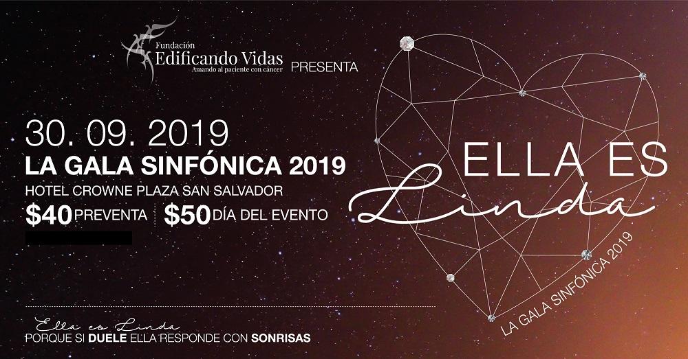 ASISTA A LA GALA SINFONICA 2019 Y APOYE A LA FUNDACION EDIFICANDO VIDAS